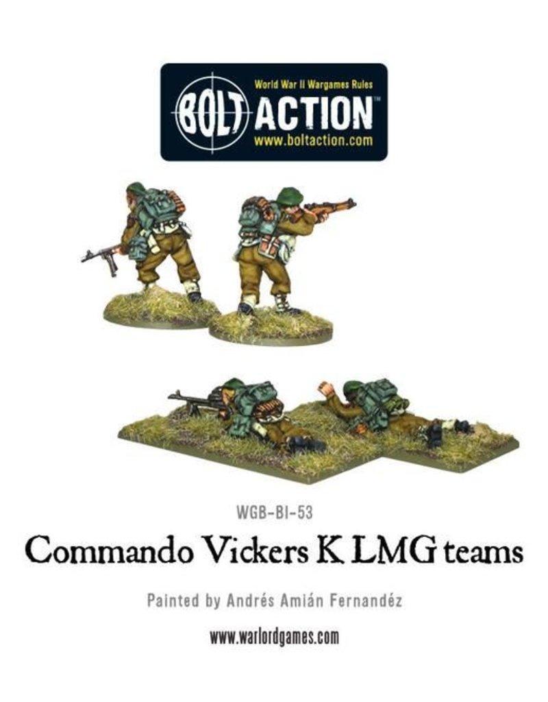 Warlord Games Commando Vickers K LMG Teams