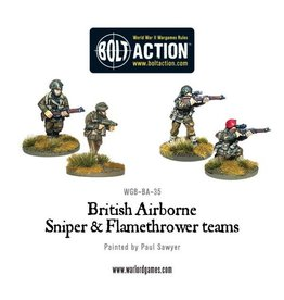 Warlord Games British Airborne Assault Weapon Teams