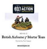 Warlord Games British Airborne 3'' Mortar & Crew