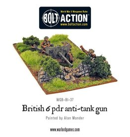 Warlord Games Army 6 Pounder ATG & Crew