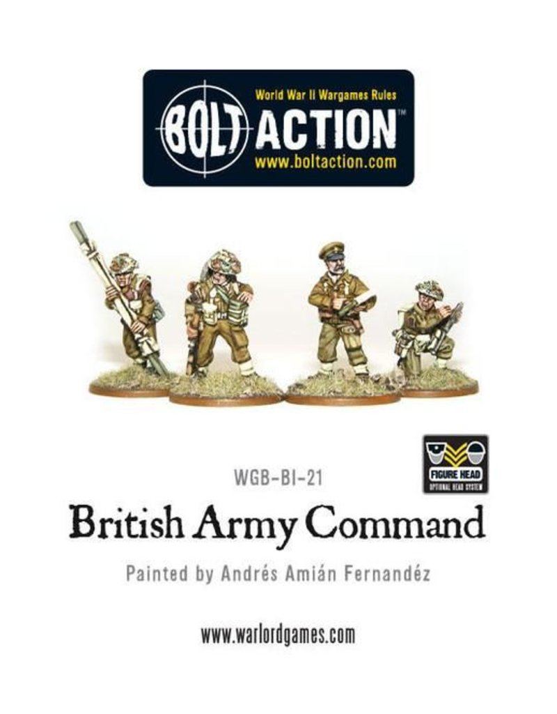 Warlord Games British Army Command