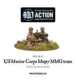Warlord Games US M1917 MMG team