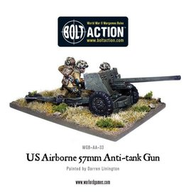 Warlord Games US Airborne 57mm ATG & Crew