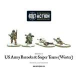 Warlord Games US Army Bazooka and Sniper teams (Winter)