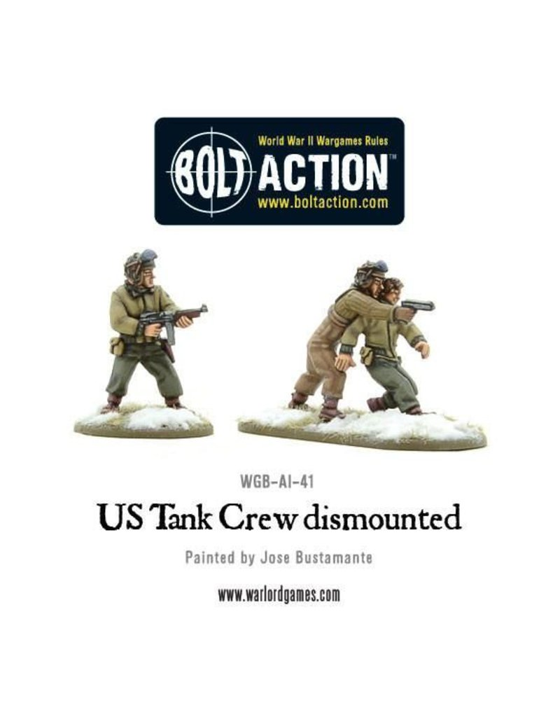 Warlord Games US Army Tank Crew dismounted