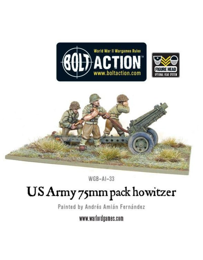 Warlord Games US Army 75mm Howitzer