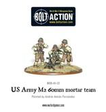 Warlord Games US Army 60mm mortar team