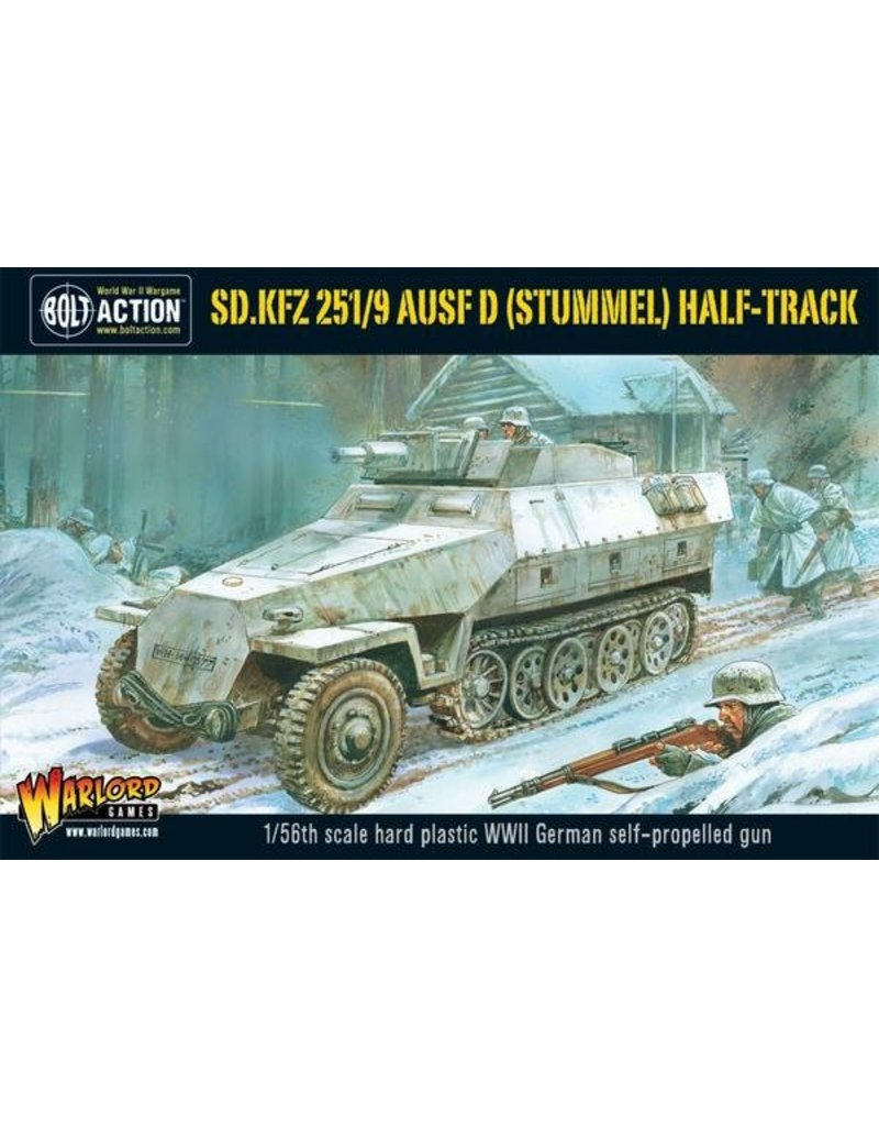 Warlord Games German Sd.Kfz 251/9 Ausf D (Stummel) Half track