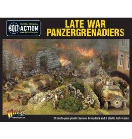 Warlord Games Late War German Panzergrenadiers