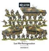 Warlord Games German Late War Panzergrenadiers (30+ 3 Hanomags)