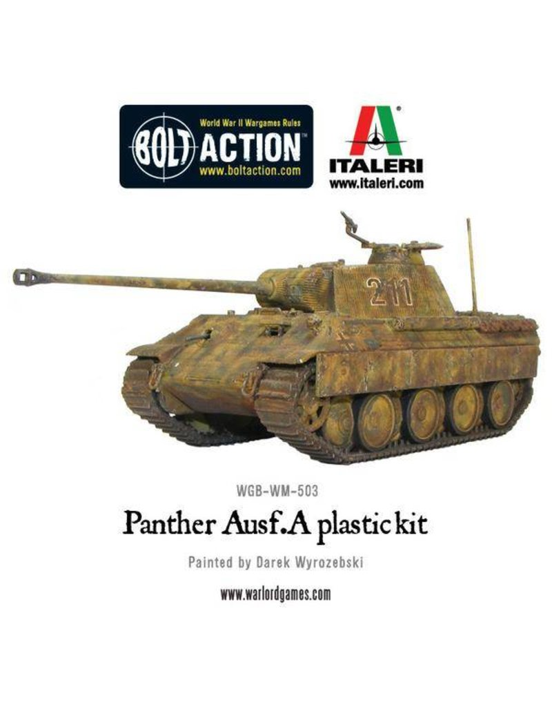 Warlord Games German Panther Ausf A Tank