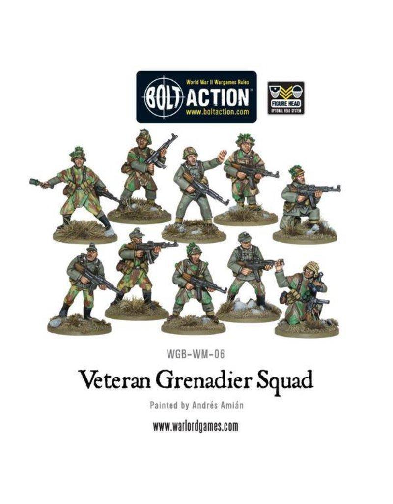 Warlord Games German Veteran Grenadiers Squad