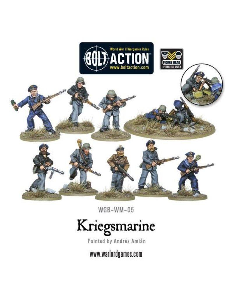 Warlord Games German Kriegsmarine Squad