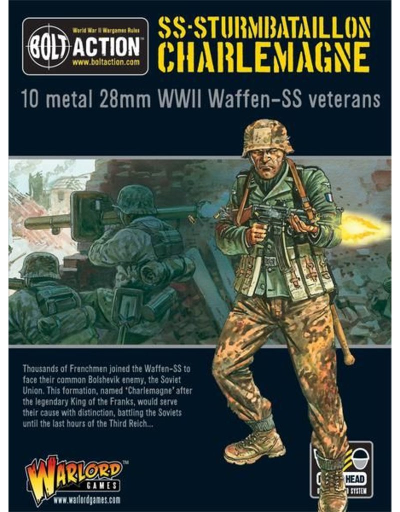 Warlord Games German SS-Sturmbataillon Charlemagne