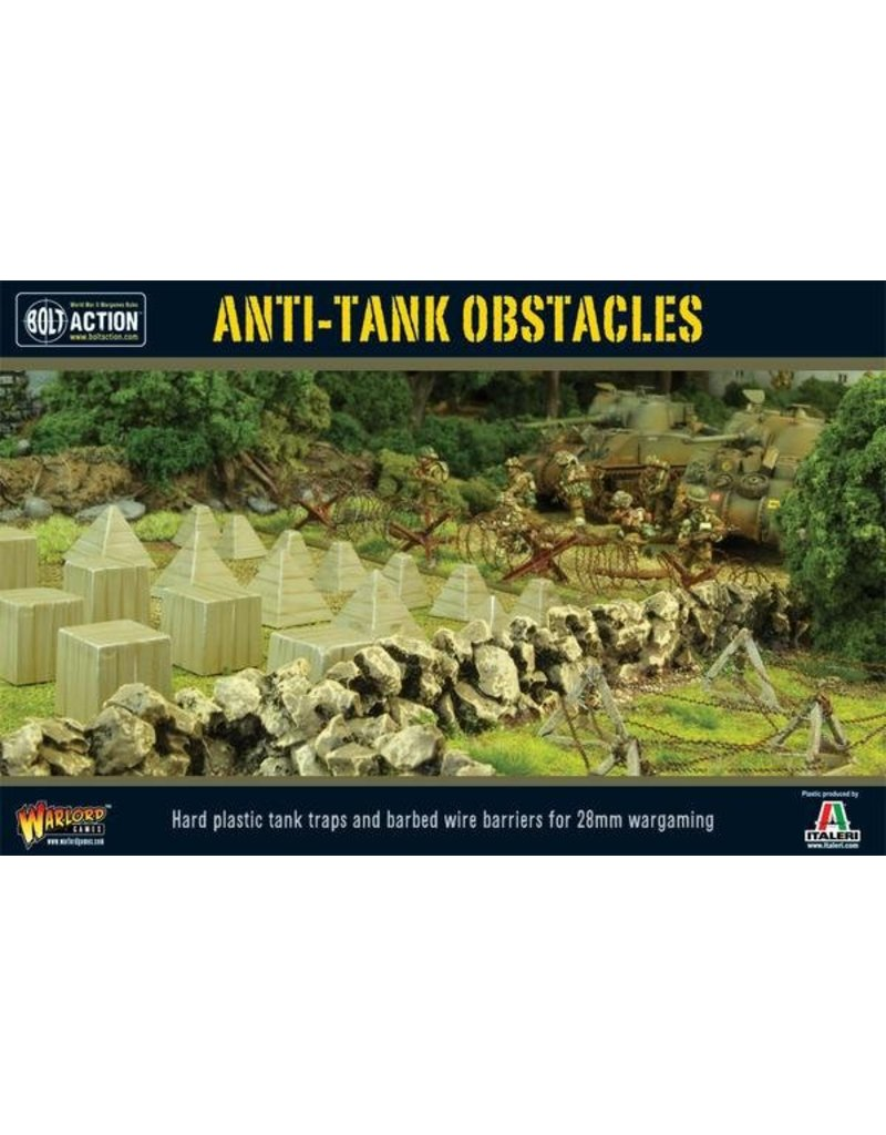Warlord Games Anti-Tank Obstacles Scenery set