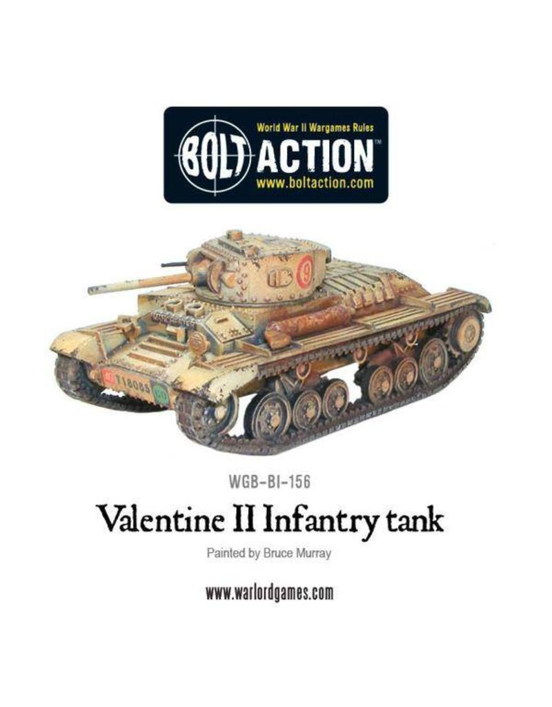 Warlord Games British Valentine II Cruiser Tank
