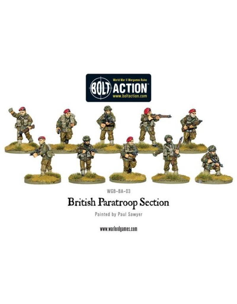Warlord Games British Paratroop Section