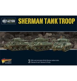 Warlord Games Sherman Tank Troop