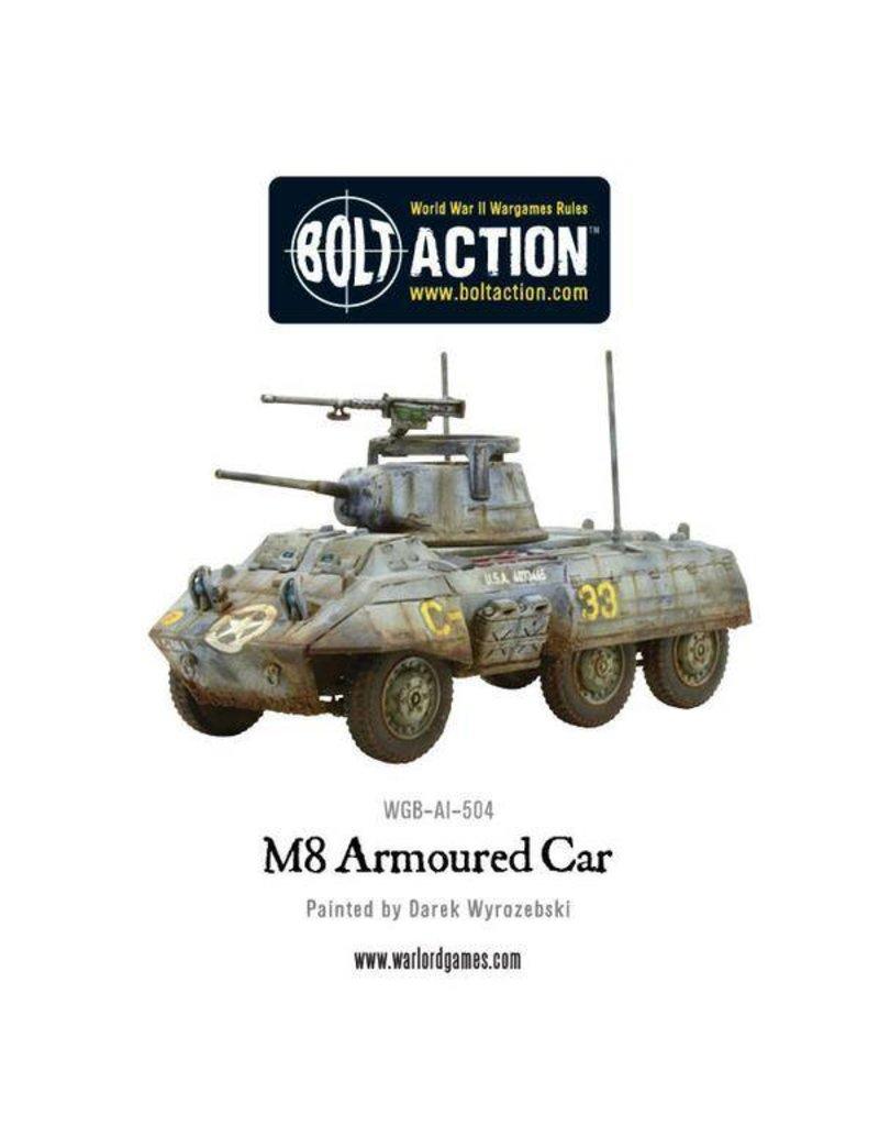 Warlord Games British M8/M20 Greyhound Scout Car