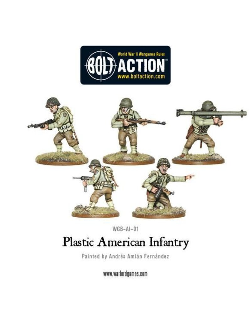 Warlord Games US Army Armoured Fist (3 Halftracks & 30 Infantry)