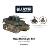 Warlord Games US Army M5 A1 Stuart Light Tank