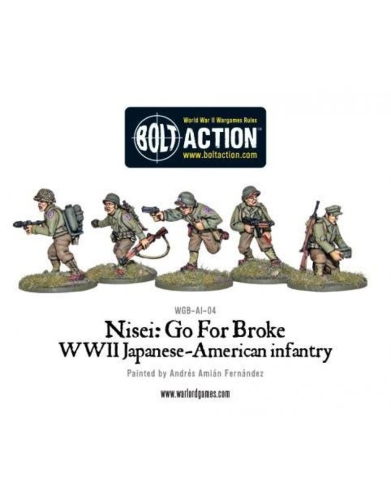 Warlord Games Go For Broke! Nissei Infantry