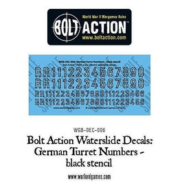 Warlord Games German Vehicle Decals