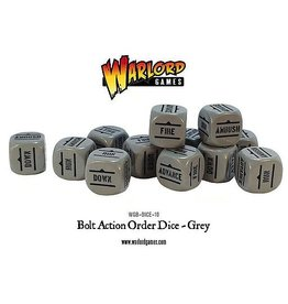 Warlord Games Orders Dice - Grey (12)