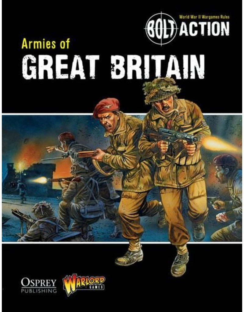 Warlord Games Armies of Great Britain (Supplement)
