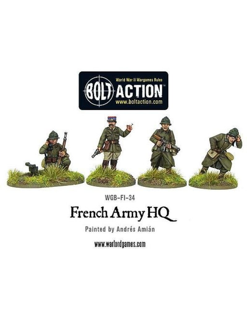 Warlord Games Early War French Command