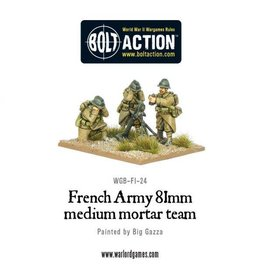 Warlord Games French 81mm Mortar Team