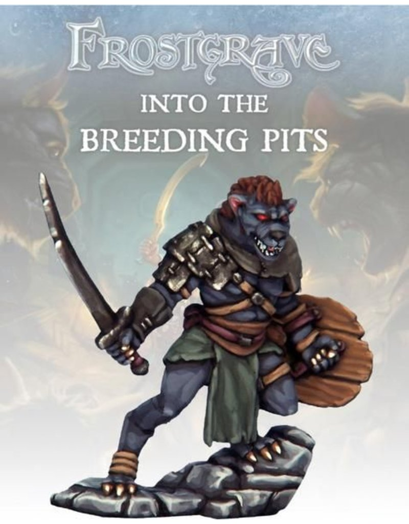 Osprey Publishing Gnoll Warchief Blister Pack