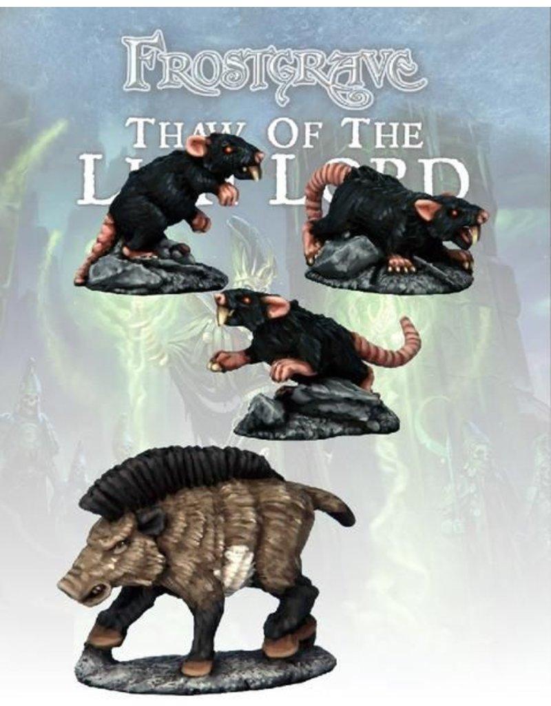 Osprey Publishing Boar & Giant Rats Blister Pack
