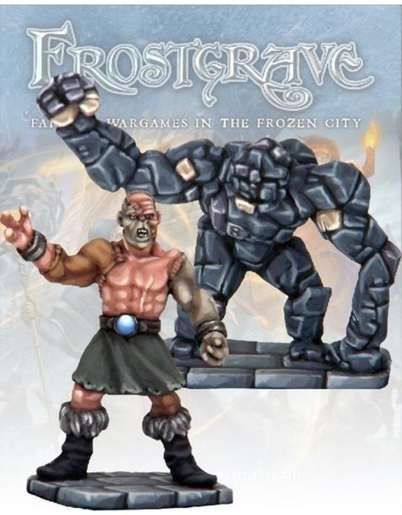 Osprey Publishing Flesh Demon & Stone Construct Blister Pack