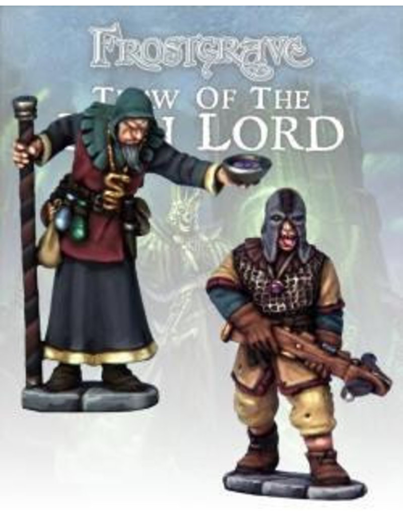 Osprey Publishing Cult Apothecary & Marksman Blister Pack