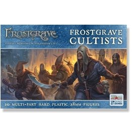 Osprey Publishing Frostgrave Cultists