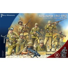 Perry Miniatures Afrikakorps, Infantry 1941-43