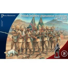 Perry Miniatures Infantry (Afghanistan And Sudan) 1877-1885