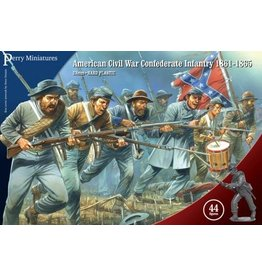 Perry Miniatures American Civil War Confederate Infantry
