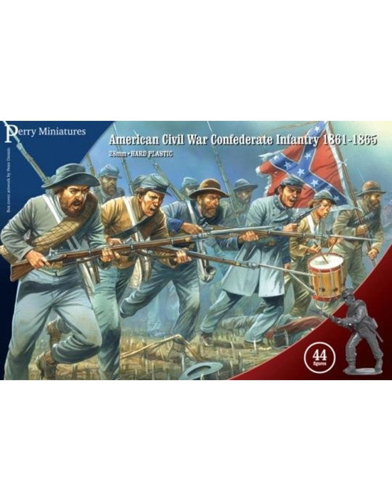 Perry Miniatures American Civil War 1861-1865 Confederate Infantry Box Set