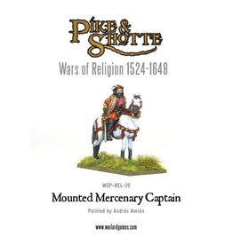 Warlord Games Mounted Mercenary Captain