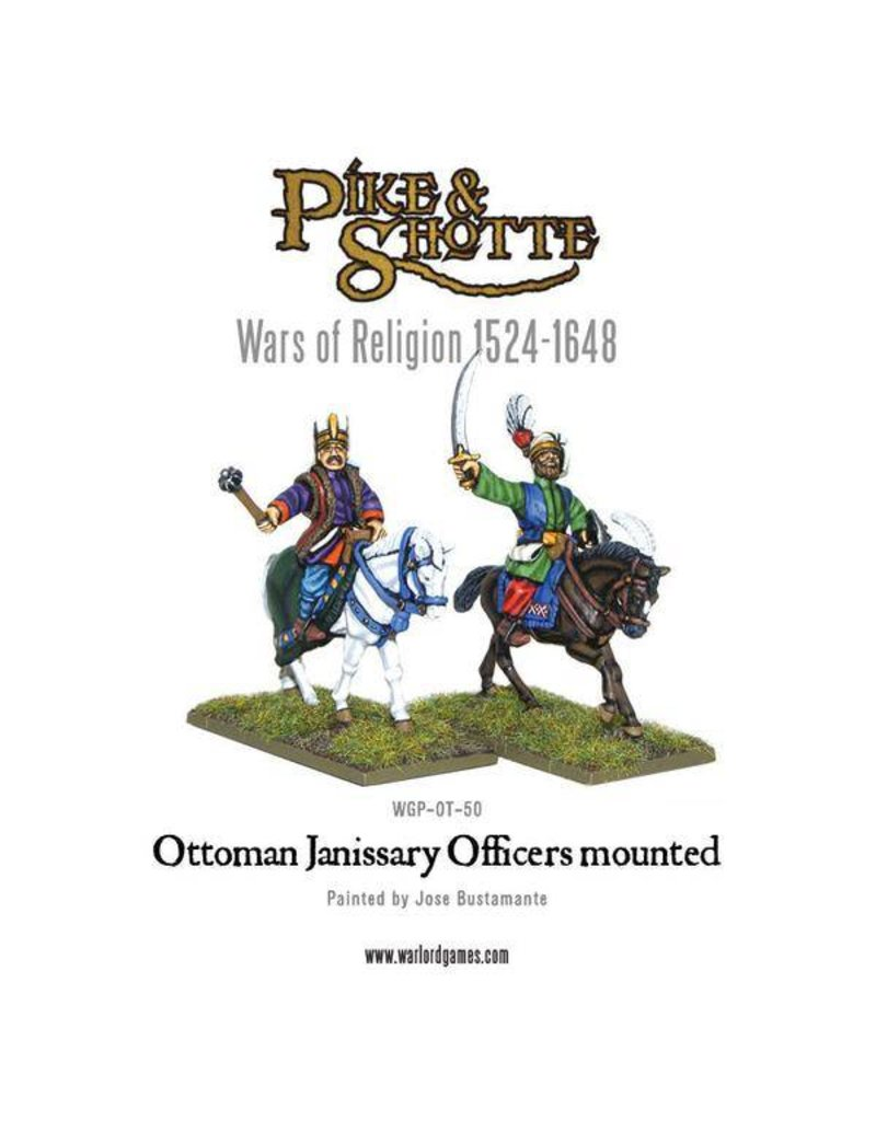 Warlord Games Wars Of Religion 1524-1648 Ottoman Janissary Officers Mounted Pack