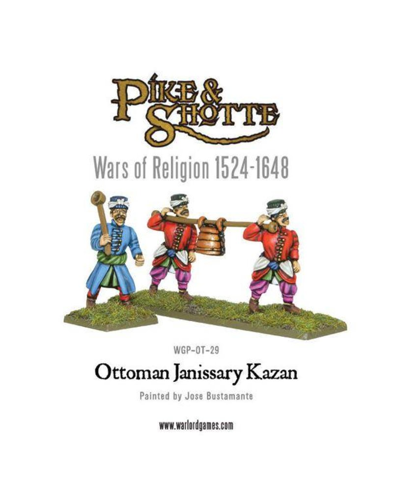 Warlord Games Wars Of Religion 1524-1648 Ottoman Janissary Kazan Pack