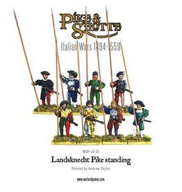 Warlord Games Landsknecht Pike Standing