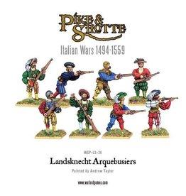Warlord Games Landsknecht Arquebusiers