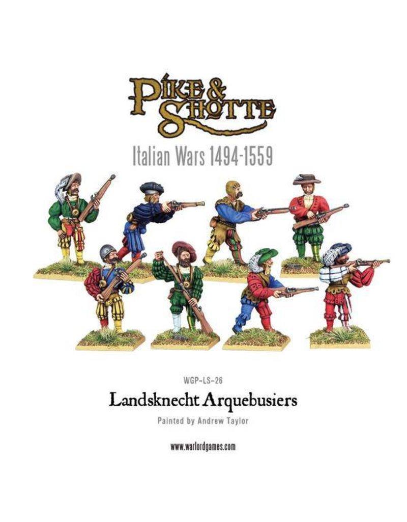 Warlord Games Italian Wars 1494-1559 Landsknecht Arquebusiers Pack
