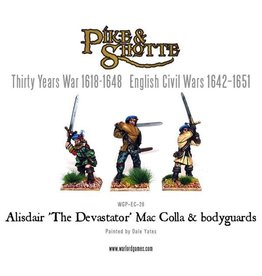 "Warlord Games Mac Colla ""The Devastator"" & Bodyguard"