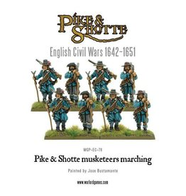 Warlord Games Pike & Shotte Musketeers Marching Column