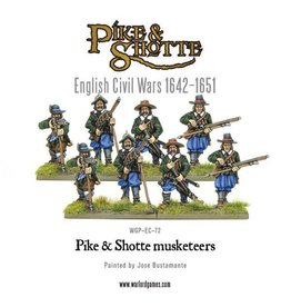 Warlord Games Pike & Shotte Musketeers