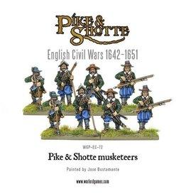 Warlord Games Pike & Shotte Musketeers